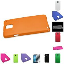 For Samsung Galaxy Note 3 Hard Rubberized Plastic Matte Phone Cover Case