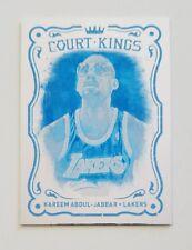 2012 Panini Black Friday Kareem Abdul-Jabbar Blue Progressions Proof Card