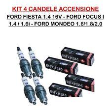 RR15YC-1 4 KIT 4 CANDELE FORD FIESTA 1.4 16V FOCUS I 1.4 1.6 MONDEO 1.6/1.8/2.0