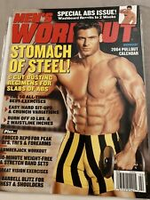 Men's Workout Magazine - February 2004 (RARE, OUT-OF-PRINT)