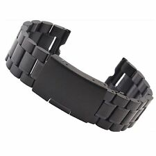 20mm Steel Metal Watch Strap Deployment Band For Samsung Gear S2 Classic US SHIP
