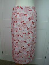 Vintage Boden floral summer midi skirt fits size 8