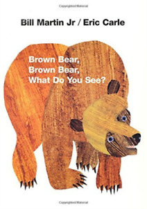 Martin, b-brown bear, brown bear, what do you see? - (german import) book new