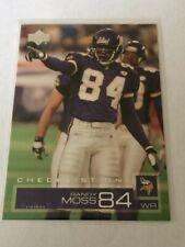 2002 Upper Deck #180 - Randy Moss - Minnesota Vikings football card