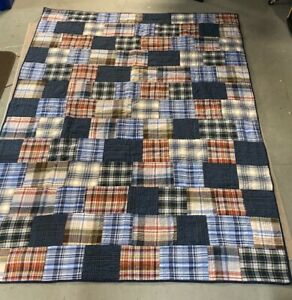 "Pottery Barn Teen QUILT heavy bed spread 84"" X 65"" *FAST SHIPPING*"