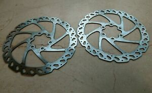 Pair of Hayes Six bolt Disc Brake rotors 160mm