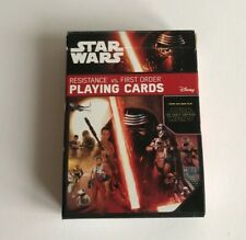 Star Wars Playing Cards Resistance vs First Order (The Force Awakens) Disney