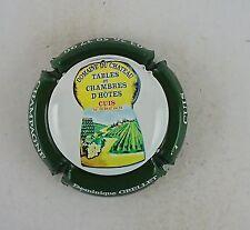 capsule champagne dominique GRELLET domaine du chateau contour vert