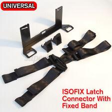 Für ISOFIX Universal Kindersitz Befestigung Halterung Sicherung +Sicherheit Gurt