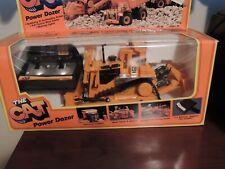 1987 NEW BRIGHT  CATERPILLAR CAT POWER DOZER 291 IN BOX