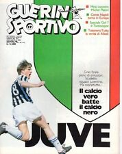 GUERIN SPORTIVO=N°17 1986=POSTER INTER 85/86 CM 40X27=REAL MADRID -INTER 5-1@@@