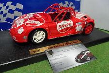 RENAULT SPORT SPIDER cabriolet BABYBEL rouge #16 P. de THOISY 1/18 ANSON 30395