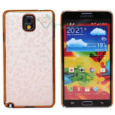 Custodia LUXURY Bianco oro per Samsung Galaxy Note 3 N9005 rigida cover case