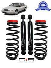 Rear Suspension Air Bag to Coil Spring Conversion Kit & Shocks Mercury grand