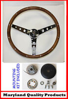 "New! 1968-1972 Chrysler Grant Wood Walnut Steering Wheel 13.5"" 13 1/2"""