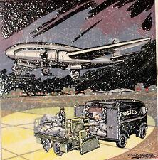 Yt 1196 A AEROPOSTALE 1959   FRANCE  FDC  ENVELOPPE PREMIER JOUR