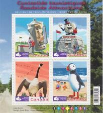 Canada 2010 Souvenir Sheet 2397 Roadside Attractions – 2 MNH