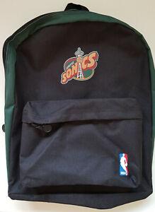 Basketball Seattle Supersonics Rucksack Backpack Vintage Original Schrempf