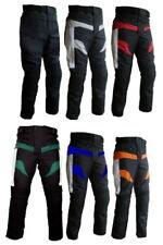 Pantaloni per moto in cordura da turismo con protezioni su ginocchia e fianchi +