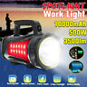 3500LM 500W USB Rechargeable LED Headlight Torch Flashlight Spotlight Work Lamp