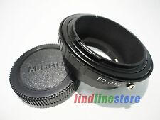 Adapter for Canon FD Lens to Micro 4/3 M4/3 E-P1 E-P2 E-P3 E-PL2 E-PM1 G10 + CAP