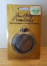 Tim Holtz Idea-ology Pocket Watch Embellishment - New in Package