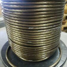 50 Foot Cut Stinger Pro Series 16 Gauge AWG Black Copper Speaker Wire SPW516BK