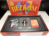 Bedlam Board Game Drumond Park Hilarious Bluffing Game 1998 Complete 12 to Adult