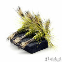 3, 6 or 12x Green Drake Dry Trout Flies for Fly Fishing