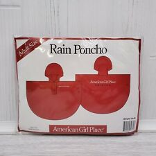 American Girl Place Chicago Adult Rain Poncho