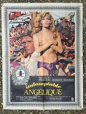 Affiche INDOMPTABLE ANGELIQUE  Robert Hossein MICHELE MERCIER Borderie 60x80*D