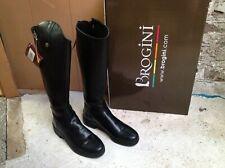 Brogini Longridge ADULTS Long Country Boots Waterproof In Brown EU 36-42 Reg