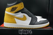 Air Jordan 1 Retro High OG 6 Rings Yellow Ochre Best In Hand 555088-109 size 15