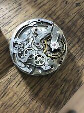 Vintage Chronograph Movement Eberhard Milan 1600 16000 Pre Extra Fort