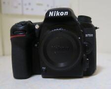 Nikon D7500 Digital SLR Camera Body Only - Black