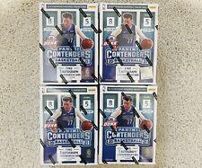 Read DESC 2x 2021 Panini NBA Contenders Basketball Trading Card Blaster Boxes
