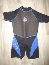 SEAL SKIN U.S. Divers Short Wetsuit Titanium Warm to the Bone Youth Size Medium