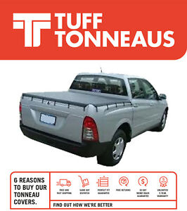 Tuff Tonneaus Bunji Ute Tonneau fits Ssangyong Musso 2004 to April 2008