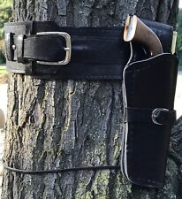 Light Weight  Holster and Belt Smooth Polyurethane Two Piece Set BROWN New 70300