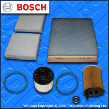 SERVICE KIT for DS DS3 1.6 BLUEHDI OIL AIR FUEL CABIN FILTERS SPW (2015-2019)