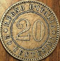 1894 ITALY 20 CENTIMISI