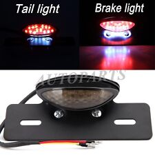 Motorcycle LED Tail Brake Light License Plate Bracket Mount For Harley Choppers