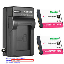 Kastar Battery Wall Charger for Sony NP-FT1 & Sony Cyber-shot DSC-T5/B Camera