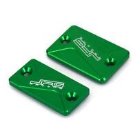 Green Front Rear Brake Reservoir Cover For KLX125 KLX150S KLX250 KLX150BF New