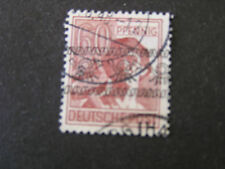 *GERMANY, SCOTT # 614a, 60pf. VALUE 1948 USED IN US/BRITISH ZONE OVPT USED
