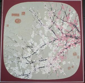 Original Abstract Serigraph Spring Shower by Colleen Rowland Listed