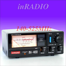 INRADIO IN-400 SWR & POWER METER VHF UHF 140-525 MHz + FAST DELIVERY! IN400