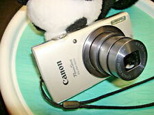 Canon PowerShot ELPH 160 Digital Camera - Silver 20MP