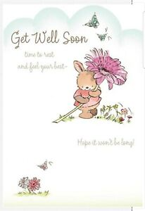 Hallmark Get well Soon Card  - Time to Rest and Feel Your Best