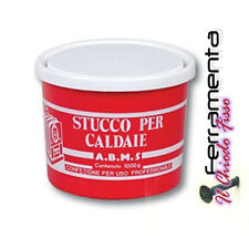 STUCCO PROFESSIONALE ALTE TEMPERATURE PER CALDAIE TERMOSIFONI 900GR.